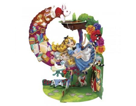 Biglietto Alice nel paese delle meraviglie